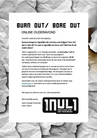 Burn out Bore out CJG